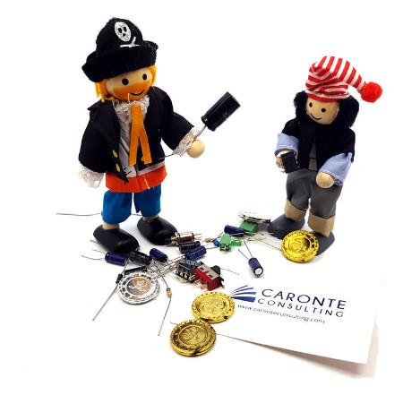 Pirati tesoro componenti
