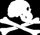 jolly roger skull logo