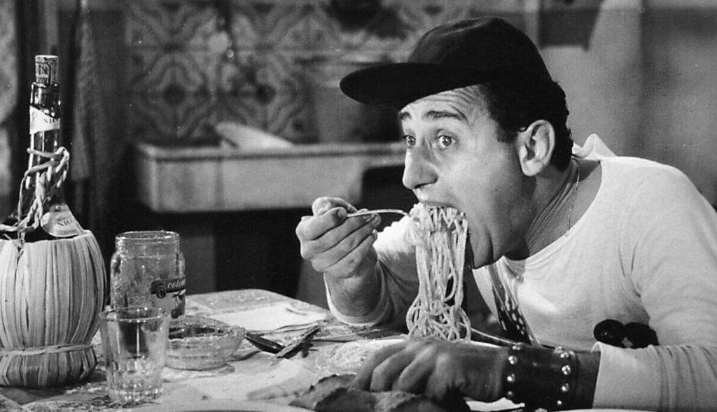Alberto Sordi_Santi Bailor_Un americano a Roma_1954